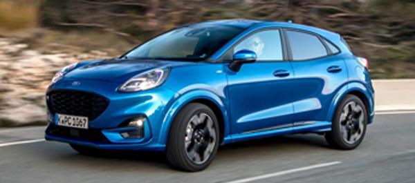 De Nieuwe Ford Puma ook bij P. Van de Ven