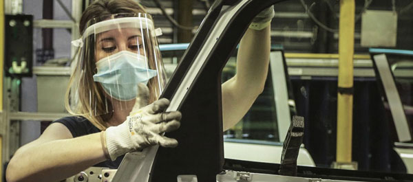 Ford productie-start-weer