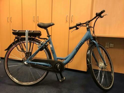 PUCH E-Folk e-bike elektrische fiets 49 cm Techni. Blue Matt