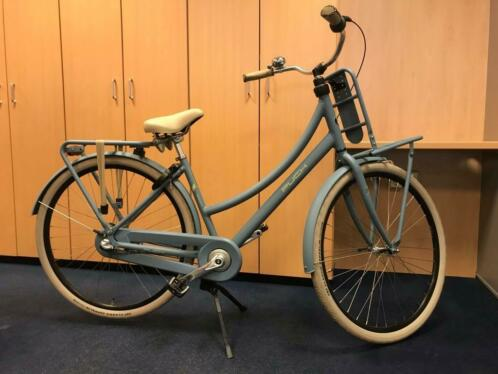 PUCH Rock dames fiets 45 cm Stonewashed Blue Matt
